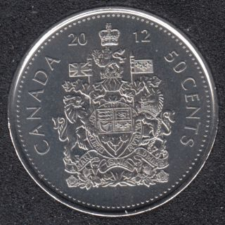 2012 - B.Unc - Canada 50 Cents
