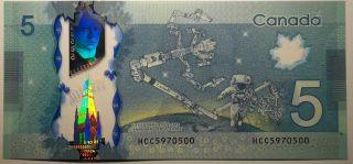 2013 $5 Dollars UNC - Macklem Poloz - Préfixe HCC
