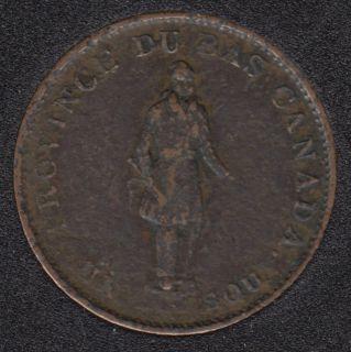 L.C. 1837 City Bank - Half Penny Token - LC-8A1