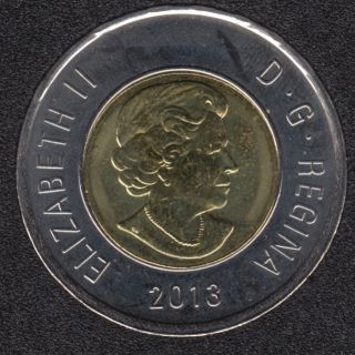 2013 - B.Unc - Canada 2 Dollars