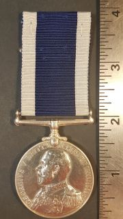 #1-257 Royal Naval Long Service and Good Conduct Medal George V