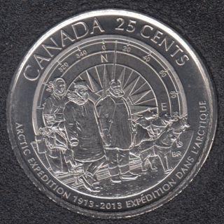 2013 - #2 B.Unc - Arctique - Canada 25 Cents