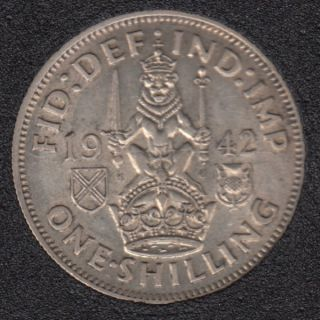 1942 - Shilling - Great Britain