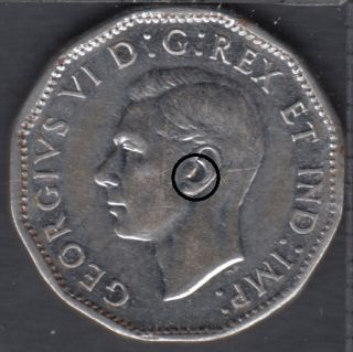 1944 - Hearring Aid - Canada 5 Cents