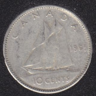1965 - Canada 10 Cents