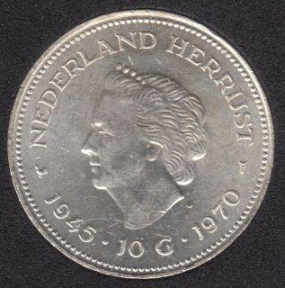 1970 - 2 1/2 Gulden - Pays-Bas