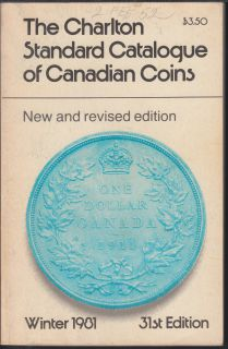 1981 - Charlton - Standard Catalogue of Canadian Coins Winter - Usagé