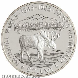 1985 DOLLAR EN ARGENT EPREUVE NUMISMATIQUE