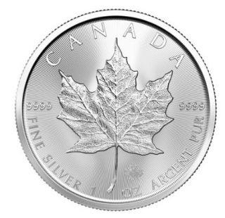 2020 - 1 oz Canada Maple Leaf Fine Silver - No Tax
