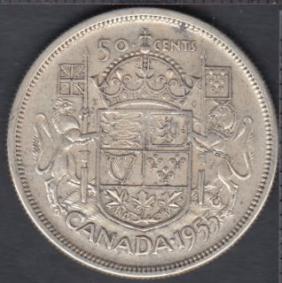 1955 - Canada 50 Cents