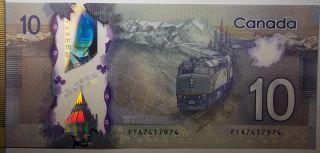 2013 $10 Dollars UNC - Macklem Carney - Préfixe FTA