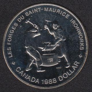 1988 - NBU - Silver - Canada Dollar