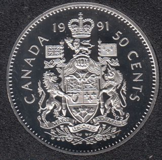 1991 - Proof - Canada 50 Cents