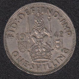 1942 - Shilling - Great Britain