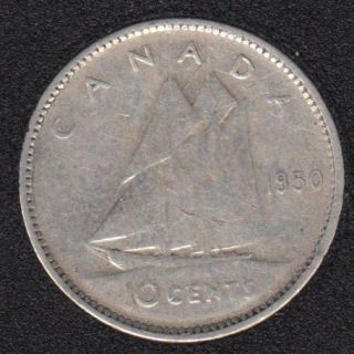 1950 - Canada 10 Cents