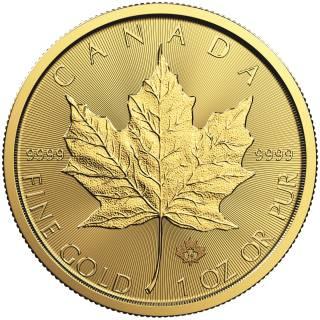 2018 - $50 - 1oz Fine Gold 9999 - Gold Maple Leaf