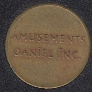 Arcade - Amusements Daniel Inc. - Gaming Token