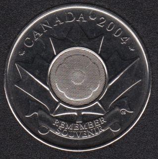 2004 - NBU - Test Token - Poppy - 25 Cents