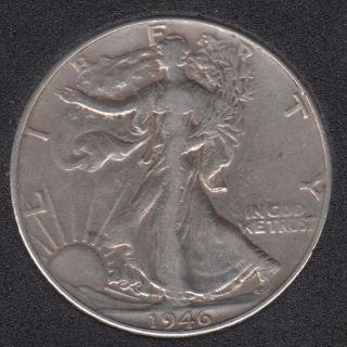 1946 - Liberty Walking - 50 Cents