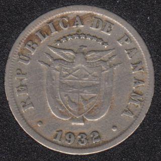 1932 - 5 Centesimos - Panama