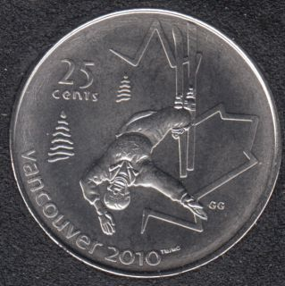 2008 - #2 B.Unc - Freestyle Skiing - Canada 25 Cents