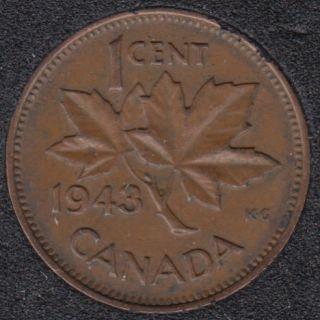 1943 - Canada Cent