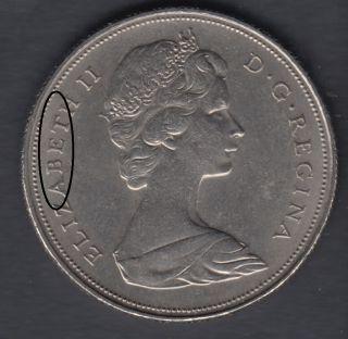 1968 - Die Break - ABET Attaché -  - Nickel - Canada Dollar