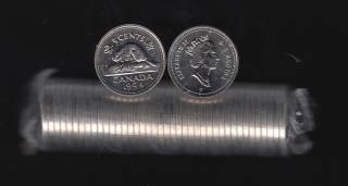 1994 Canada 5 Cents - 40 Coins - B.UNC