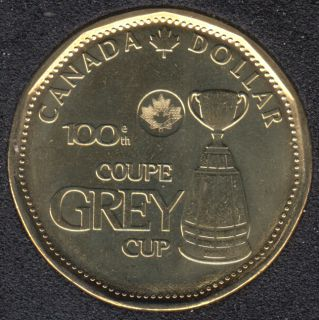 2012 - B.Unc - Coupe Grey - Canada Dollar