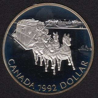 1992 - Proof - Silver .925 - Canada Dollar