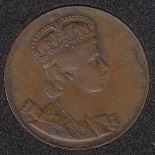 1953 - Elisabeth II Coronation - Medal