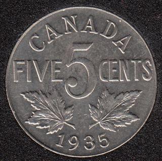 1935 - AU - Canada 5 Cents