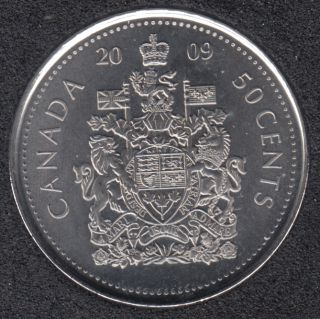 2009 - B.Unc - Canada 50 Cents