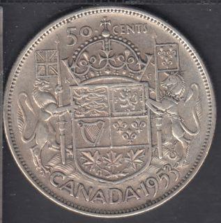 1953 - LD SF - Canada 50 Cents