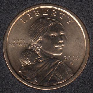 2000 D - Sacagawea - Dollar