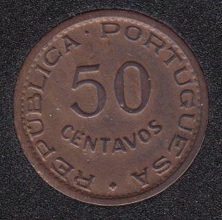 Angola - 1955 - 50 Centavos