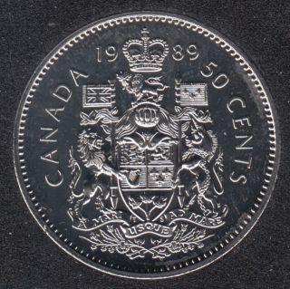 1989 - NBU - Canada 50 Cents