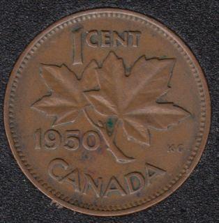 1950 - Canada Cent