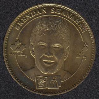 1998 - McDonald - Brendon Shanahan - Shayne Corson - Equipe Canada Olympique