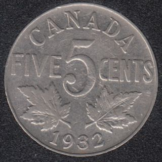 1932 - Canada 5 Cents