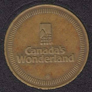 Arcade - Canada's Wonderland - No Cash Value - Gaming Token