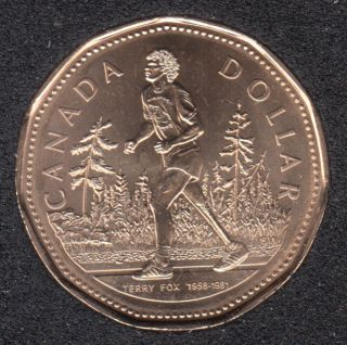 2005 - B.Unc - Terry Fox - Canada Dollar