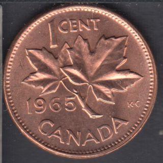 1965 - #1 B.Unc - SBP5 - Taché - Canada Cent