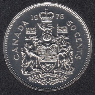 1976 - Proof Like - Canada 50 Cents