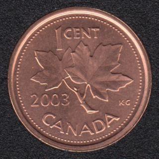2003 - B.Unc - OE - Canada Cent