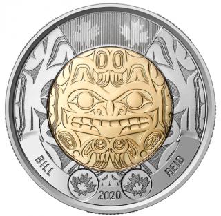 2020 - $2 Bill Reid Coin