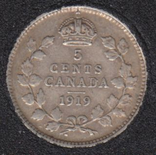 1919 - Canada 5 Cents