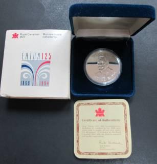 1994 Eaton 125 - $50 Dollars - Darnell - 1 OZ Fine Silver Coin