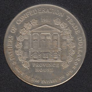1981 - Charlottetown P.E.I. - Fathers of Confederation - John Hamilton Gray - $1