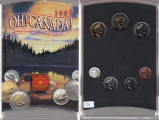 1998 HO! CANADA BRILLIANT UNCIRCULATED SET